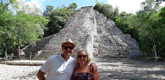 Temple at Coba Maya