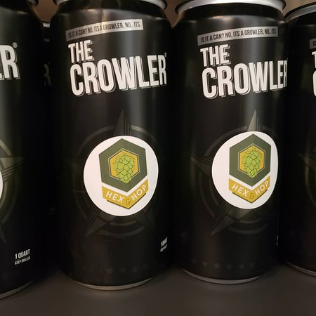 32 oz Crowler cans to go!