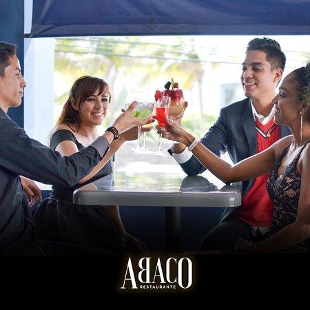 Comparte y disfruta con tus amigos desde la terraza ABACO.  📍Blvd. Ruiz Cortines #525, Boca del Río, Veracruz. ☎ Reserva al 229 167 6776