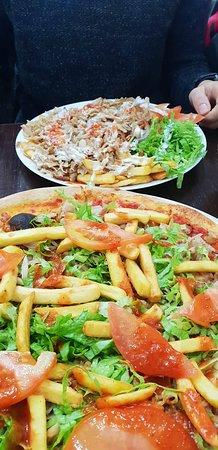 Anatolia Doner Kebab: piatto kebab e pizza kebab