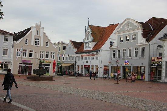Schleswig-Holstein, Alemania: Schleswig Holstein - Dithmarschen - Heide - Marktplatz
