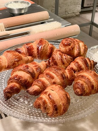 Paris Cooking Class: Learn How to Make Croissants: Le Foodist croissant making class -- we did pretty well I'd say!