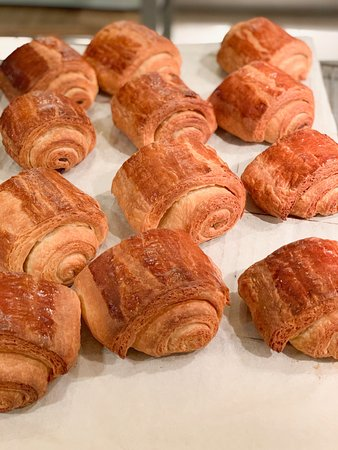 Paris Cooking Class: Learn How to Make Croissants: Croissant Making class in Paris with Le Foodist. These are Pan Chocolat that we made.