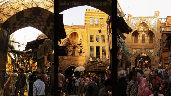 El Cairo, Egipto: Old Cairo and Khan El Khalili Bazaar: Private Half-Day Tour Explore Cairo on a half-day tour. Visit Khan El Khalili, one of the most famous and oldest bazaars in the Middle East. Then head to Old Cairo, where you will see the Hanging Church, Ben Ezra Synagogue, Church of St. Barbara, and Church of Abu Serga. About this activity Duration 5 hours www.balloonsfirsttrip.com info@balloonsfirsttrip.com whatsapp+201140775675