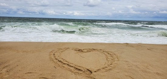 I always leave a heart on every beach I visit