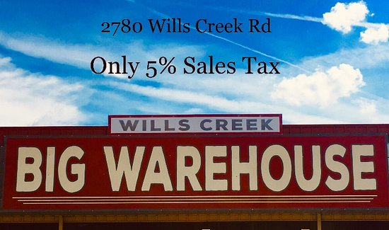 Wills Creek Big Warehouse