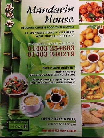 Mandarin House Horsham Updated 2020 Restaurant Reviews