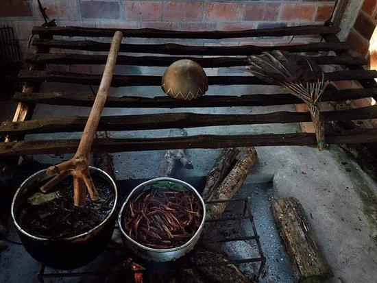 Tena, Ecuador: Ayahuasca preparation