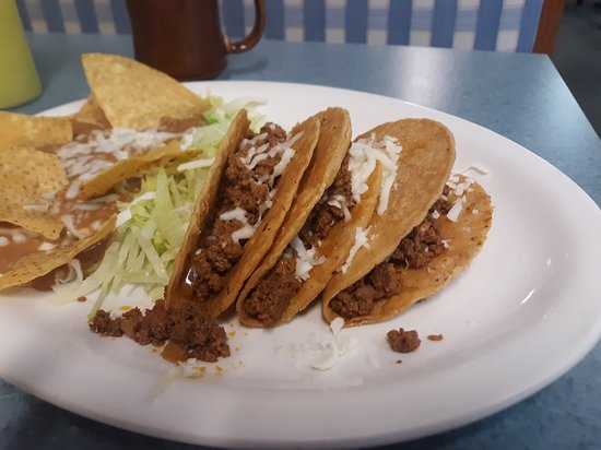 Hard shell tacos ground beef or Chicken delicious