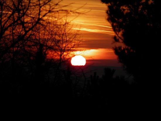 Hel, Poljska: Zachód słońca