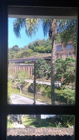 Vista da janela para a Cervejaria Bohemia