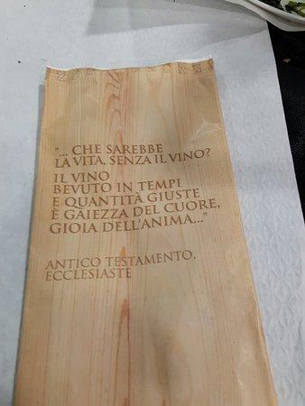 Frasi storiche alla Fraschetta Romana