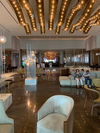 The lobby at the grand; you know you have arrived.