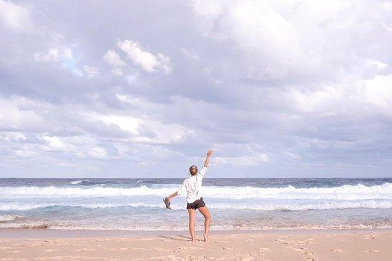 Boomerang Beach, Australië: 📸 instagram.com/clararosenb/ #barringtoncoast #greatlakesnsw #lovethegreatlakes #barringtontops #manningvalley