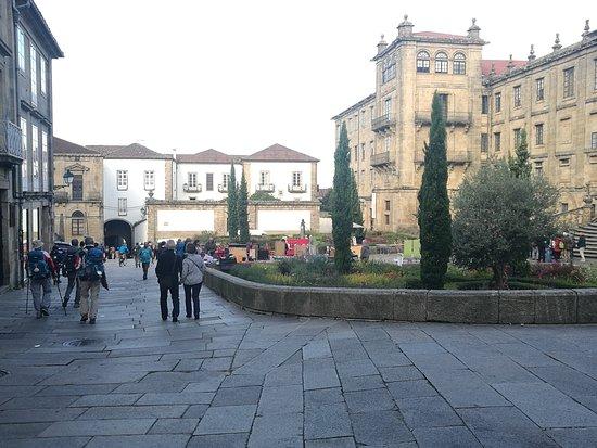 Praza da Inmaculada.