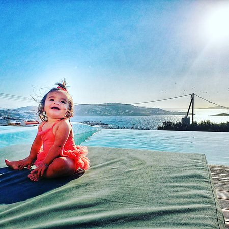 Mykonos, Greece: She loved the sun