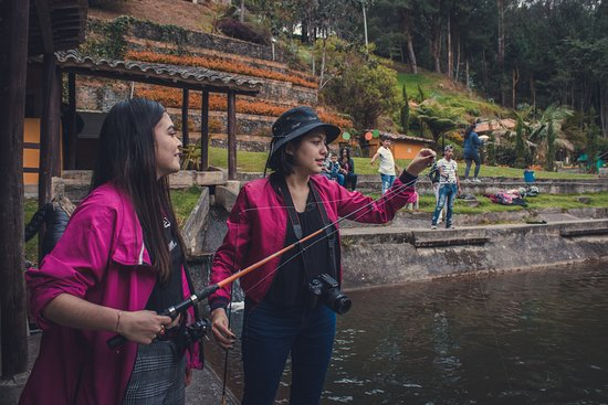 Pescando en Montearroyo :D