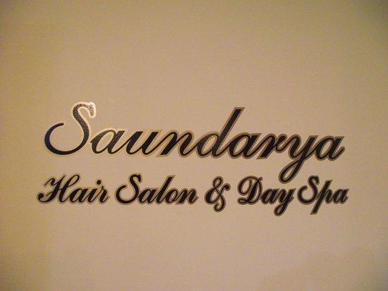 ME - SANFORD - SAUNDARYA - SIGN INSIDE