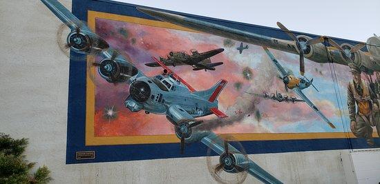 Lemon Cove, Californië: Exeter mural