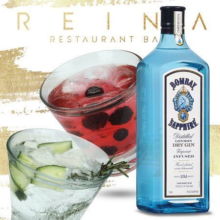Gin Tonic Bombay de Frutos Rojos y Pepino