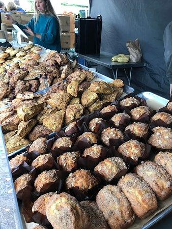 Baked goods from Ardelia Farm