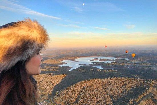 Vuelo en globo por el valle del Yarra...