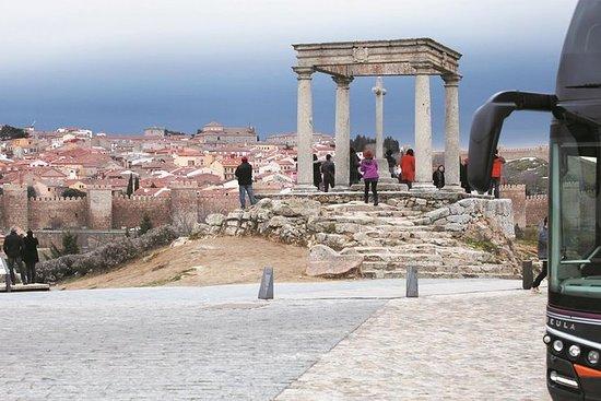 包括徒步旅行在內的塞戈維亞和阿維拉全日遊