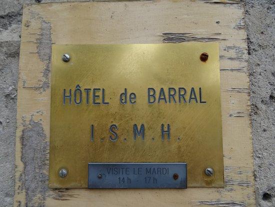 L'Hôtel de Barral