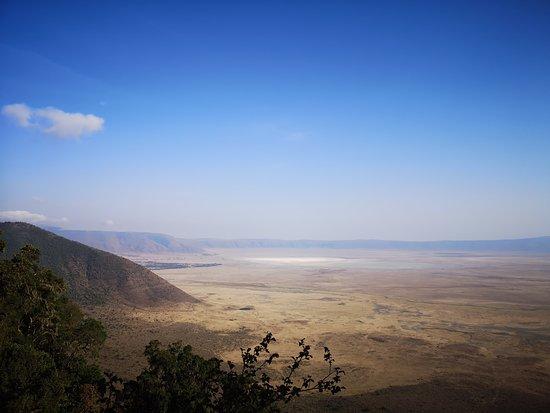 Ngorongoro Conservation Area, Tanzânia: Point de vue du cratère Ngorongoro