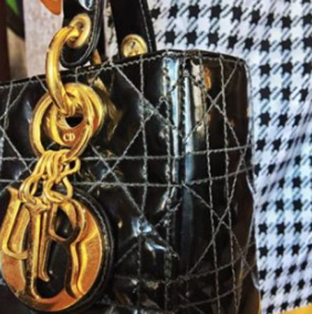 Vintage Lady Dior Bag we have at our Museum store
