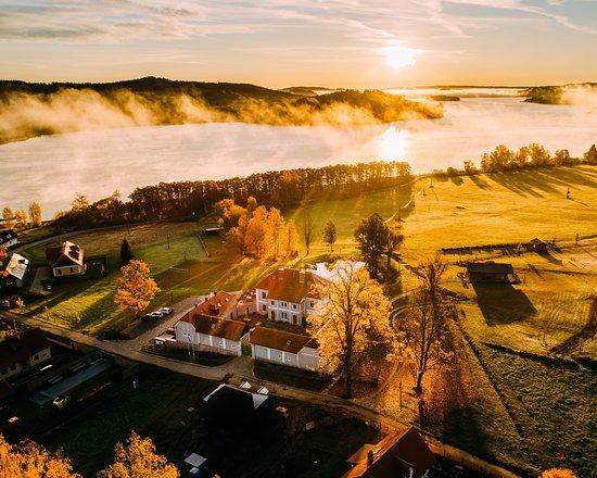 Horni Plana, Tsjekkia: Nádherný podzim v Aparthotelu Knížecí Cesta / Beautiful autumn at Aparthotel Knížecí Cesta