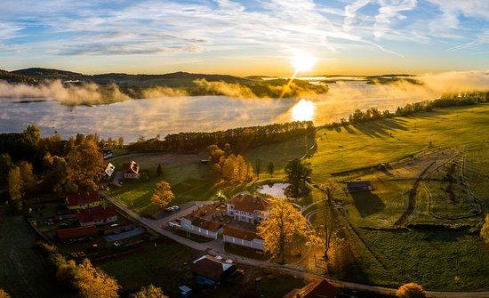 Horni Plana, Tsjekkia: Přeskrásná přírodní scenérie Aparthotelu Knížecí Cesta / Lovely natur scenery of Aparthotel Knížecí Cesta