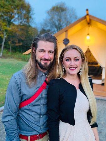 Officiated a wedding at Gilbertsville Farm!