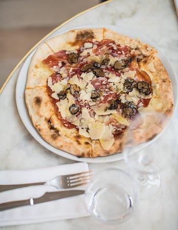 Pizza Tartufo-Culatello