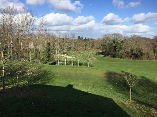Gestel, France: vue sur le golf