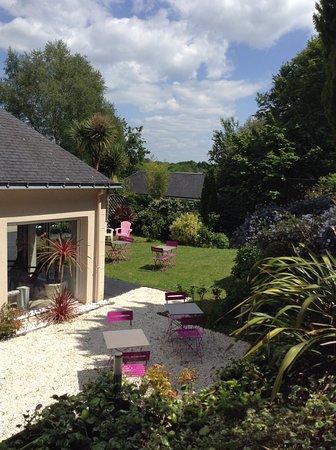 Gestel, France: petite terrasse