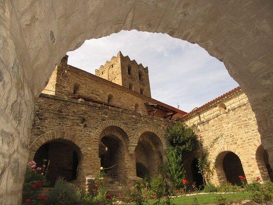 le cloître et l'église
