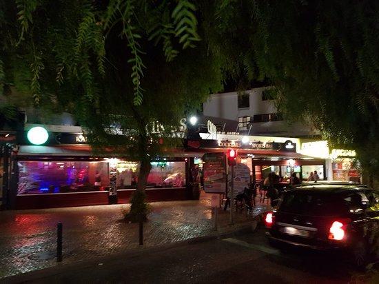 Kings Cross Bar along The Strip.