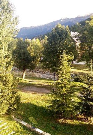 Vista desde la habitación del hotel