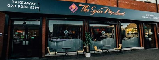 Whiteabbey, UK: The spice merchant front