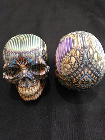 These Skulls are made of fimo too, will become a great collection to add your collection. It is limited edition.