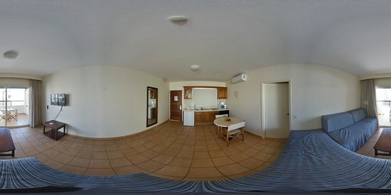 Lounge / Kitchen 1 - Virtual Reality Picture. Use headset