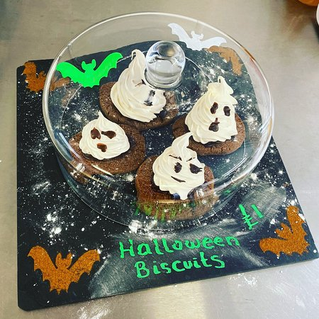 Our Spooky Halloween Biscuits