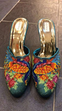hand crafted nyonya beaded shoe that you will not miss