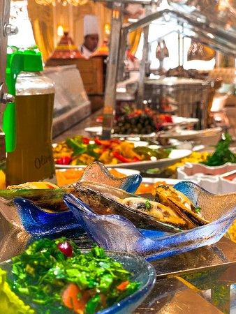 Buffet Salad Station