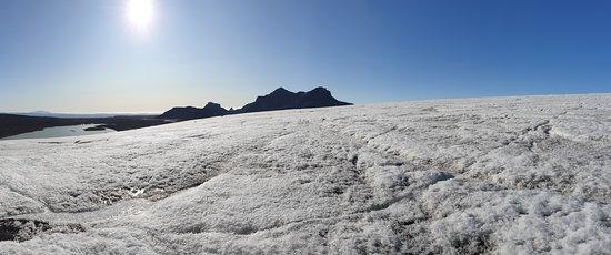 glacier area of Langjökull
