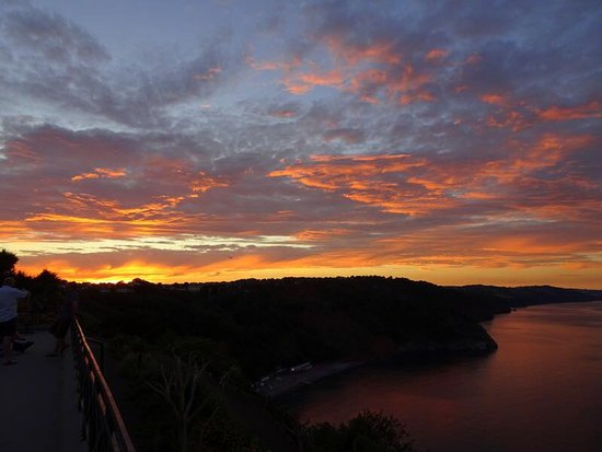Sunset from Babbacombe Downs