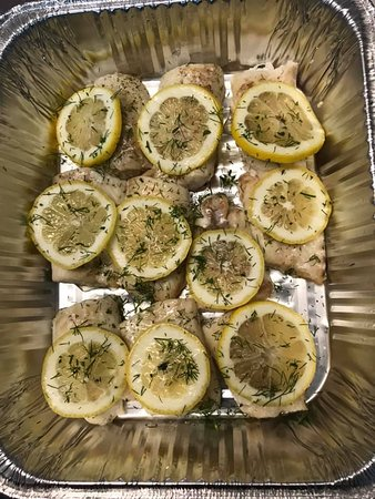 Baked Haddock with Lemon