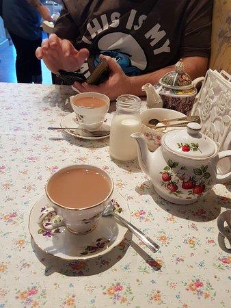 A lovely little tea room.