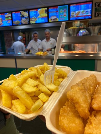 Codland Fish & Chips: Best Fish and Chips ...ever. Thx Greats from Germany